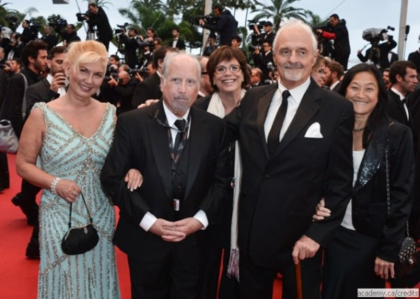 Svetlana and Richard Dreyfuss, Helga Stephenson, Ted Kotcheff and Laifun Kotcheff