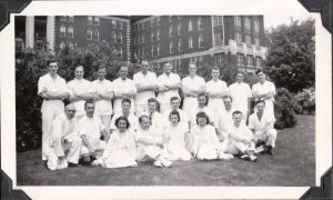 Ottawa Civic Hospital Interns. Spring 1950