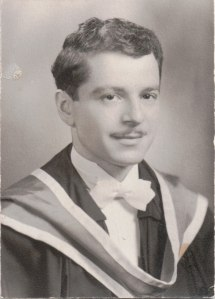 Graduation from Queen's School of Medicine, 1949