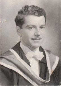 Graduation from Queen's School of Medicine, 1949