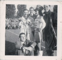 Queen's Football Game, Kingston. late 40s.