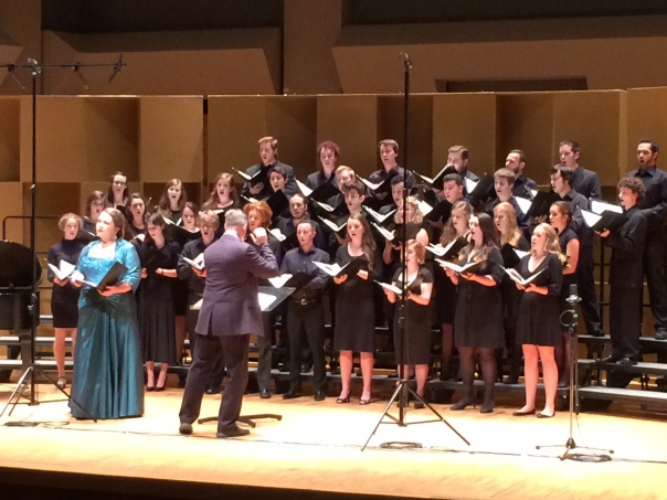 Schulich School Singers, October 2013.