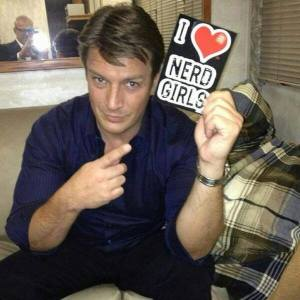 Nathan Fillion of course!