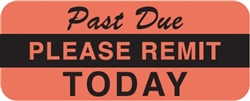 past due sticker