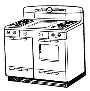 retro stove