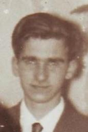 My uncle, James Ross Gear. (1934-1957)