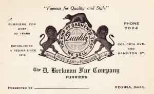 D Berkman Fur Company