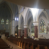 Side aisle: west