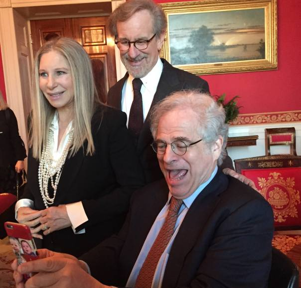 Itzhak Perlman, Steisand, Spielberg
